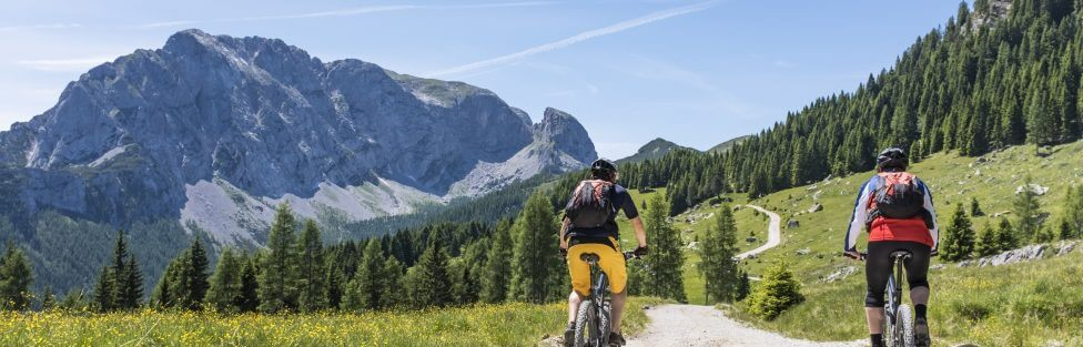 Mountainbiking in den Alpen